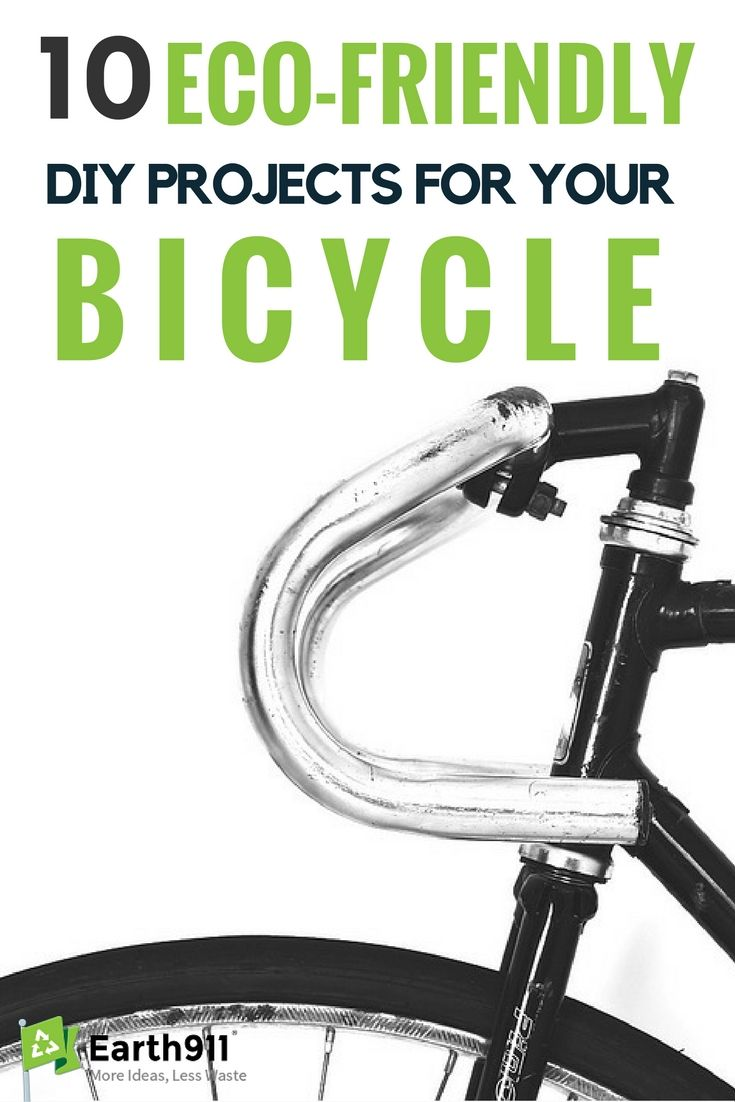 10 Eco Friendly Diy Projects For Your Bicycle
