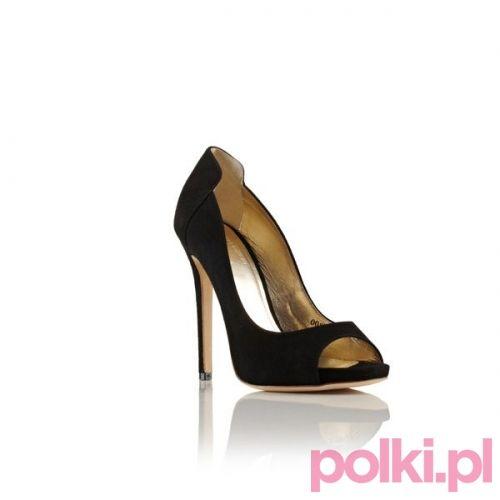 Czarne Szpilki Peep Toe Baldowski By Zien Polkipl Buty Shoes Baldowski Zien Heels Shoes Fashion