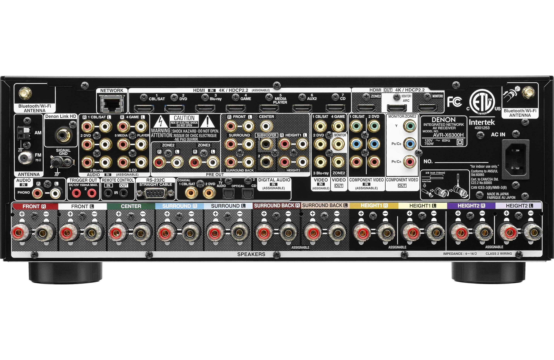 Crutchfield Denon X Series A V Receivers Media Room Pinterest Audio