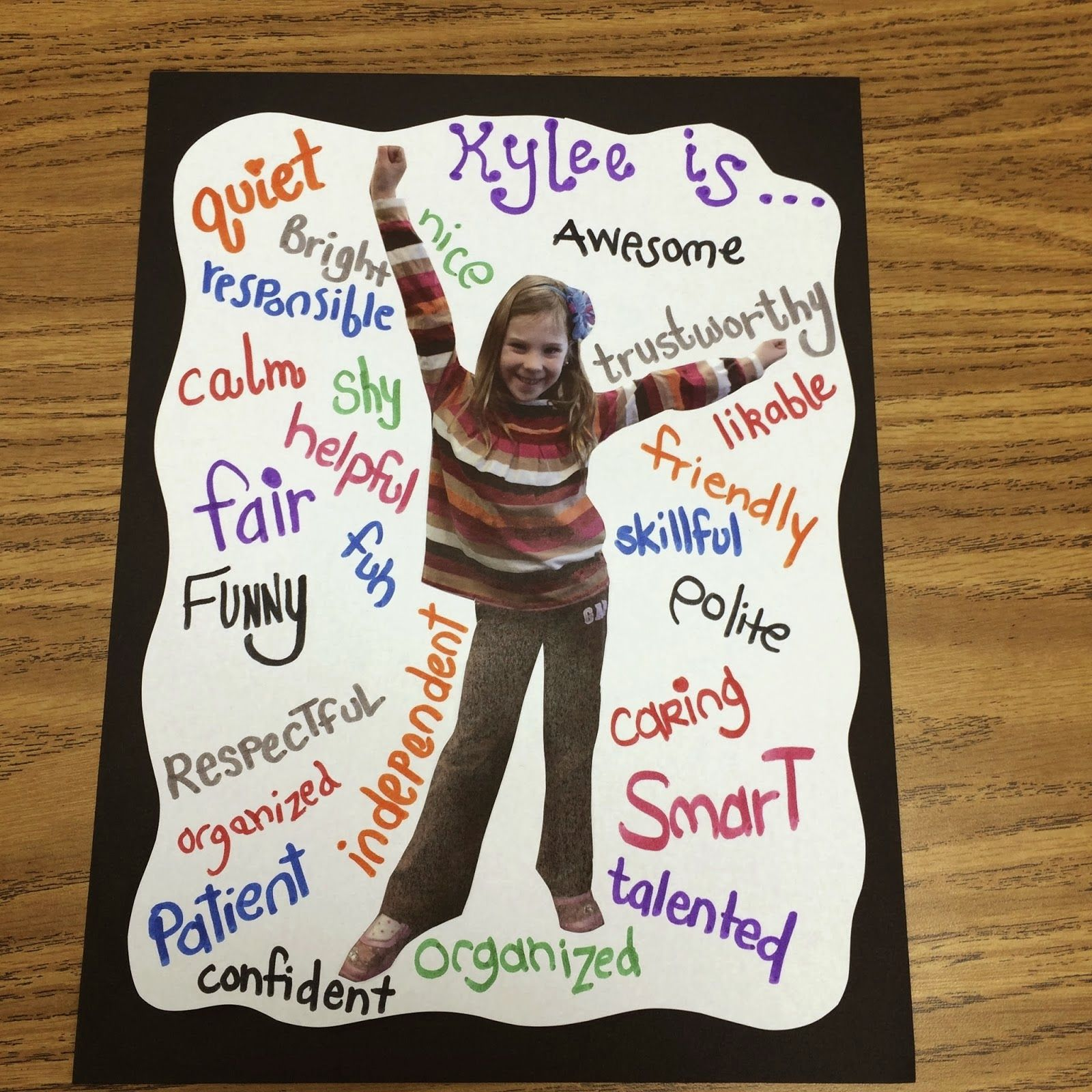 Adjectives To Describe Character Traits Of Classmates