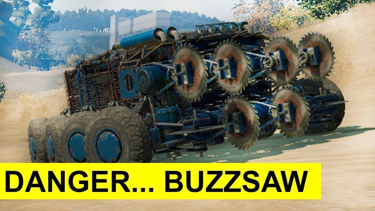 Crossout: Worm (Best Battle BuzzSaw-Car + Review) | Crossout
