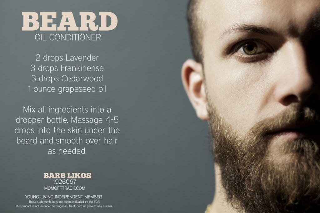 The Best Recipe for DIY Beard Oil [With Free Labels!] in