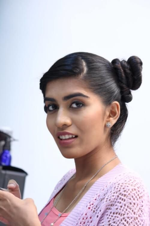 Side Top Knot For The Stylish College Going Indian Girl College