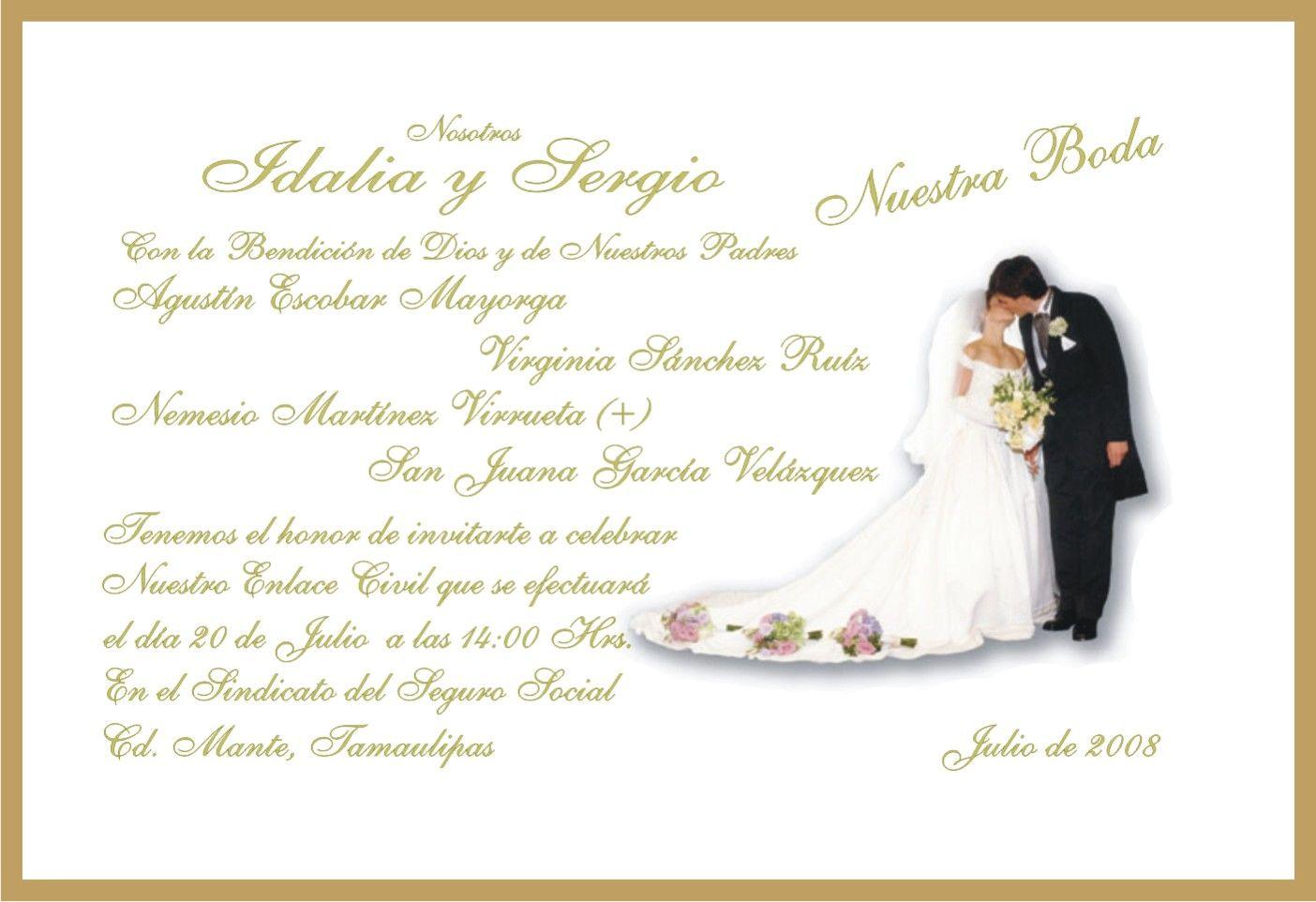 Invitaciones de boda cristiana para mandar por whatsapp 5 - Modelos de tarjetas de boda ...