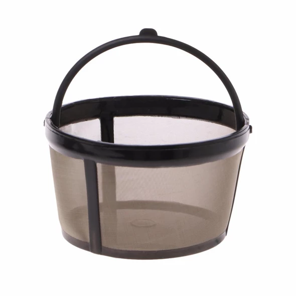 Replacement Reusable Coffee Filter Refillable Basket Cup Style Brewer Tool