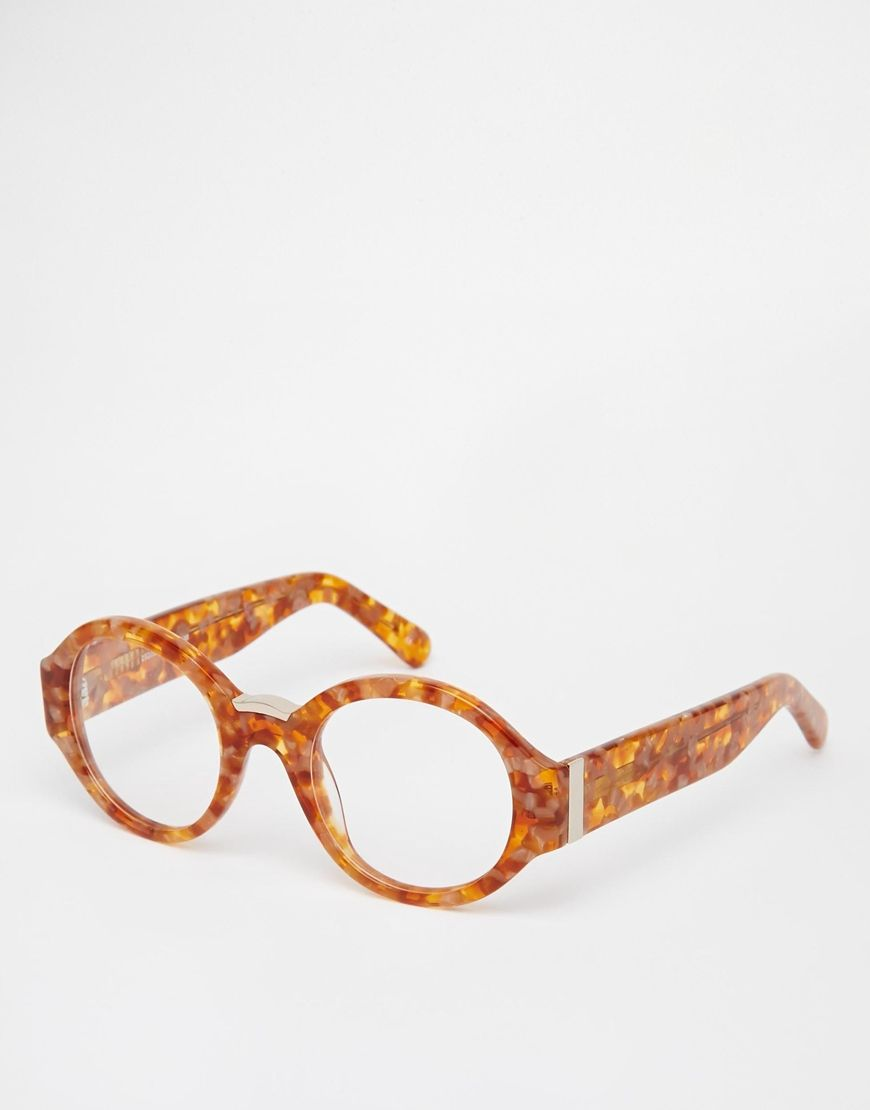ASOS Handmade Round Optical Glasses With Chunky Arms   glasses ...