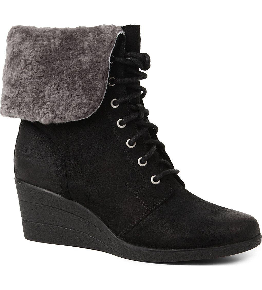 UGG - Zea ankle boots | Selfridges.com
