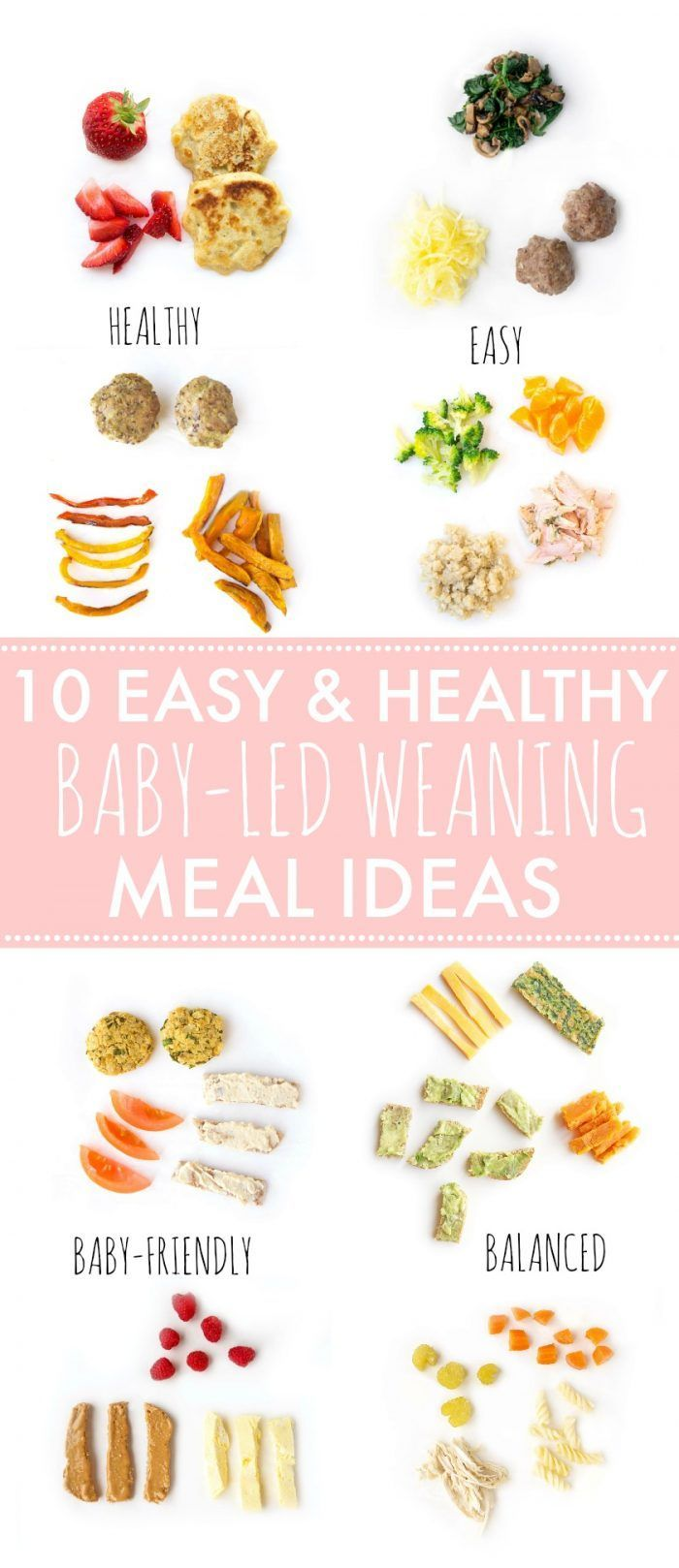 10 Easy & Healthy Baby-Led Weaning Meal Ideas | Haute & Healthy Living