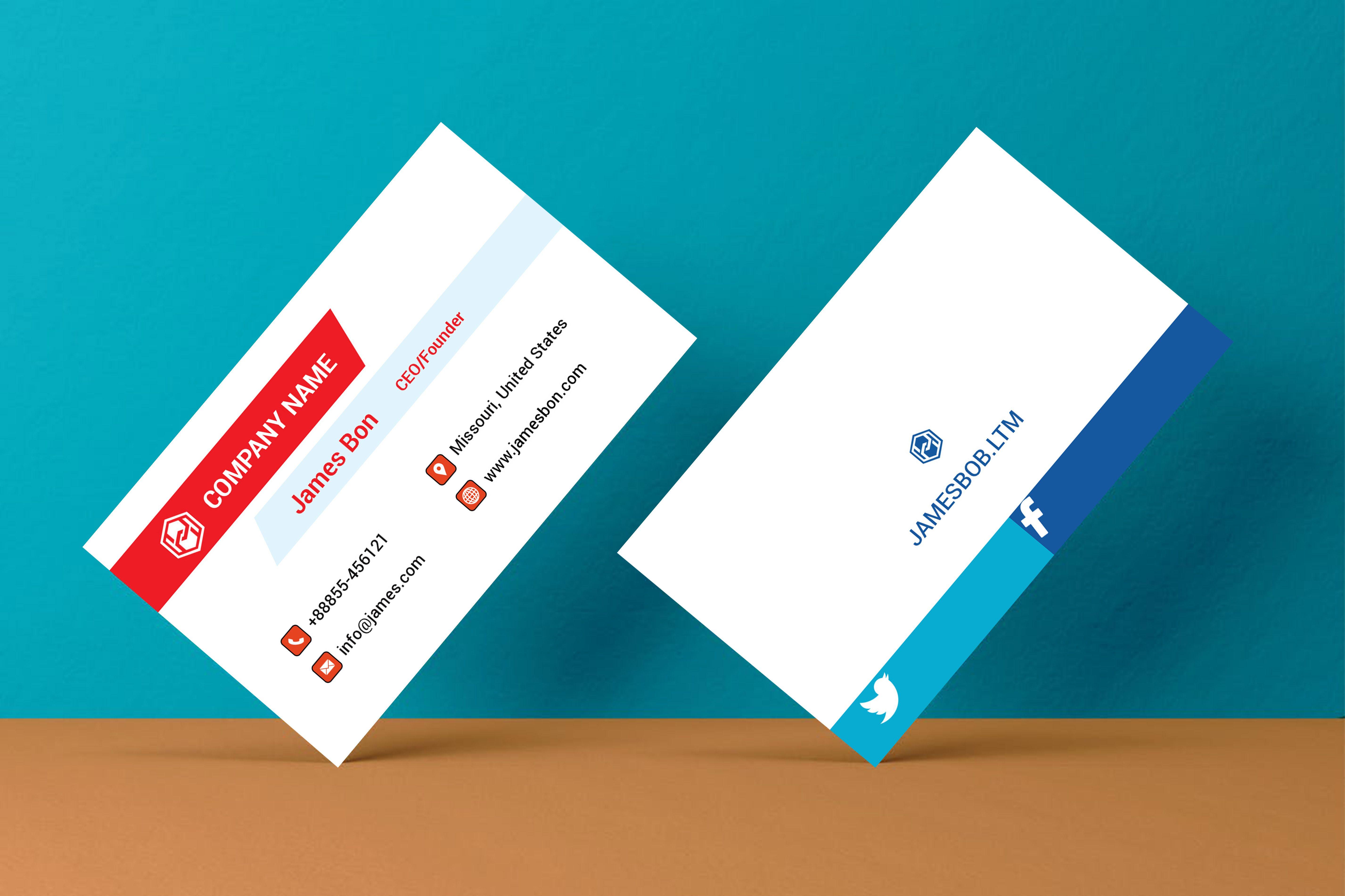 do design amazing business cards postcards letterhead