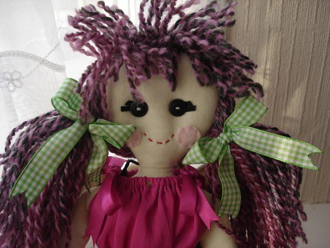 Image detail for -... homeware art cards stationery weddings supplies handmade rag doll