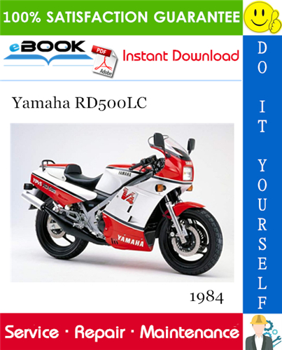 1984 Yamaha Rd500lc Motorcycle Service Repair Manual In 2020 Repair Manuals Repair Yamaha