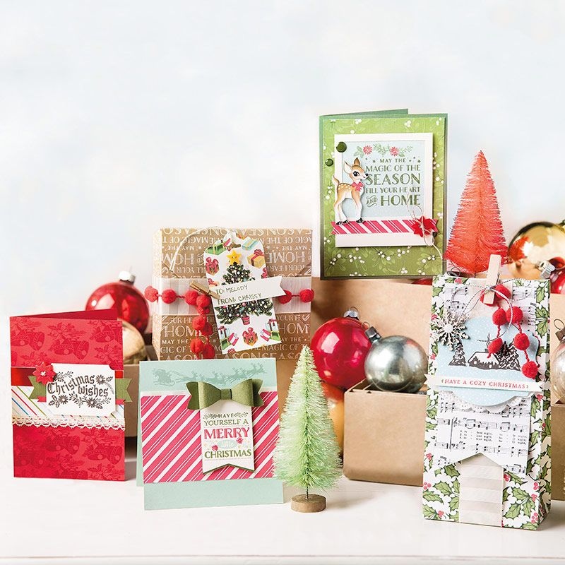 Home For Christmas Cardstock Pack By Stampin Up With Images