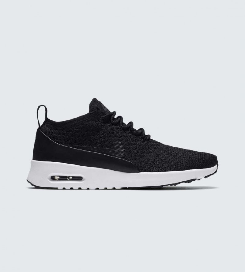 A favorite style gets a speedy makeover with the NikeLab Air Max Thea Ultra  Flyknit Shoe. Made with a sleek Flyknit constructed upper, it turns up the  ...