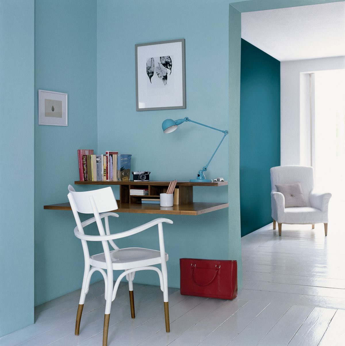Colour for the walls - Wall colour - Crystal Suprise 2 - Blues ...
