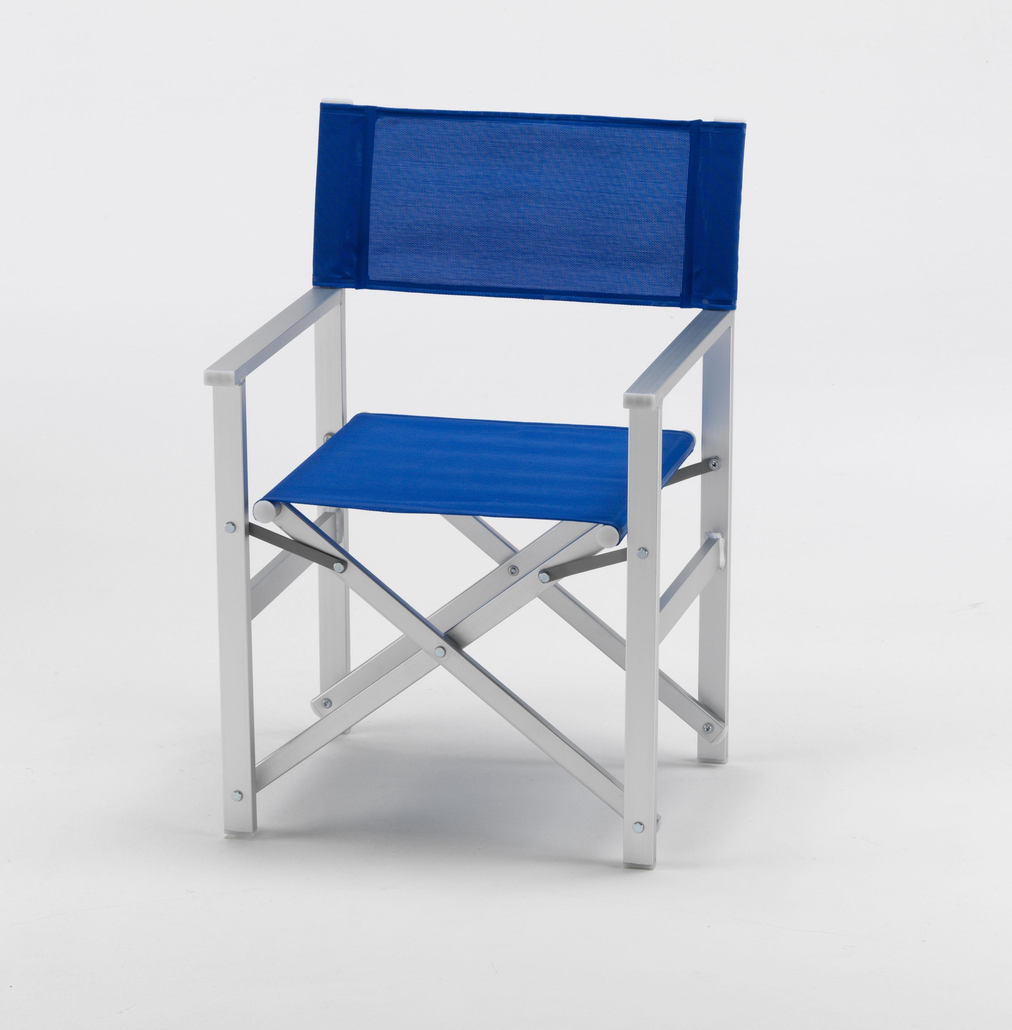 Chaise Transat Style Regisseur De Plage Pliante Aluminium Textilene Lusso Chaise De Camping Chaise Transat Chaise De Plage Pliante