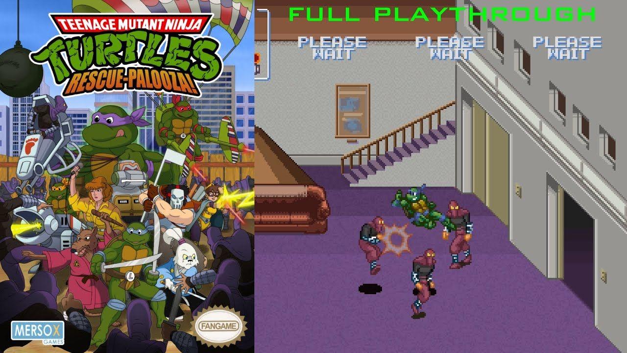 Teenage Mutant Ninja Turtles Rescue Palooza Pc Full Playthrough Teenage Mutant Ninja Turtles Teenage Mutant Ninja Teenage Mutant