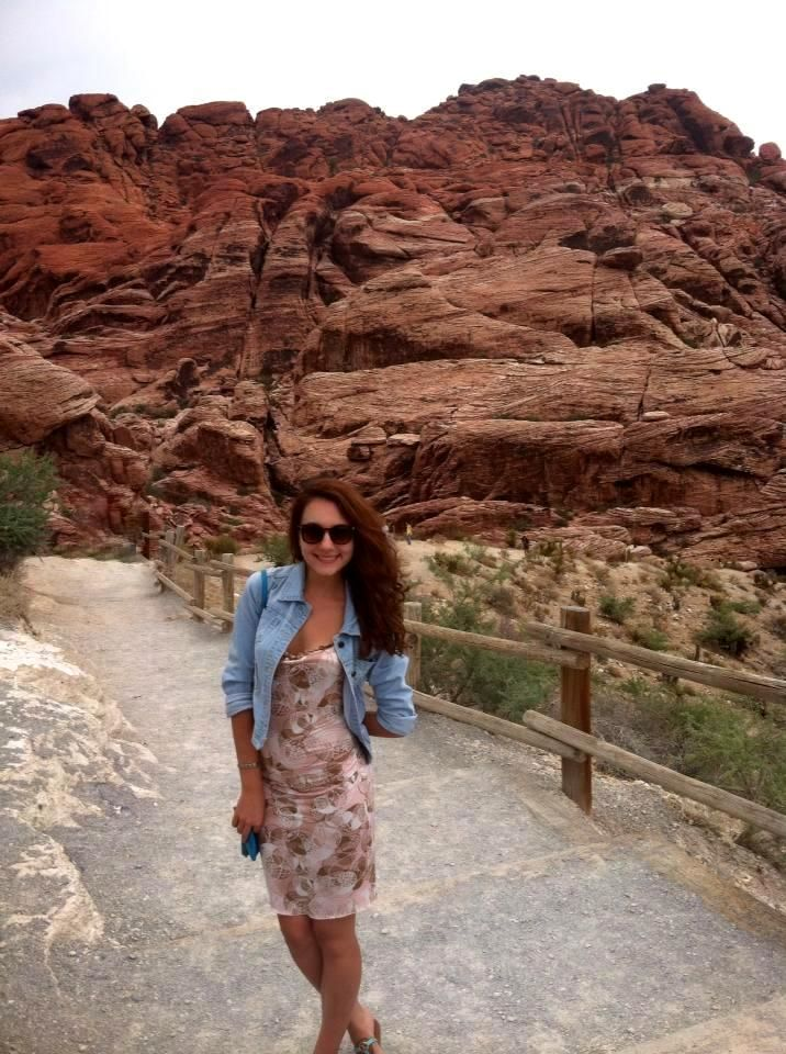 Red Rock Canyon right next to Vegas!
