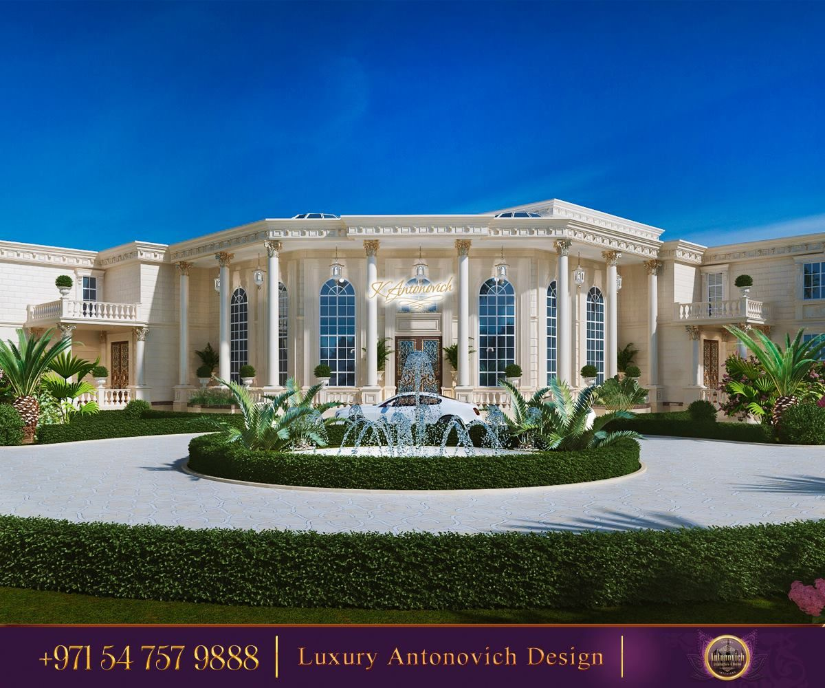Stunning home exterior design that has awesome facade using a different material in one area can highlight a space