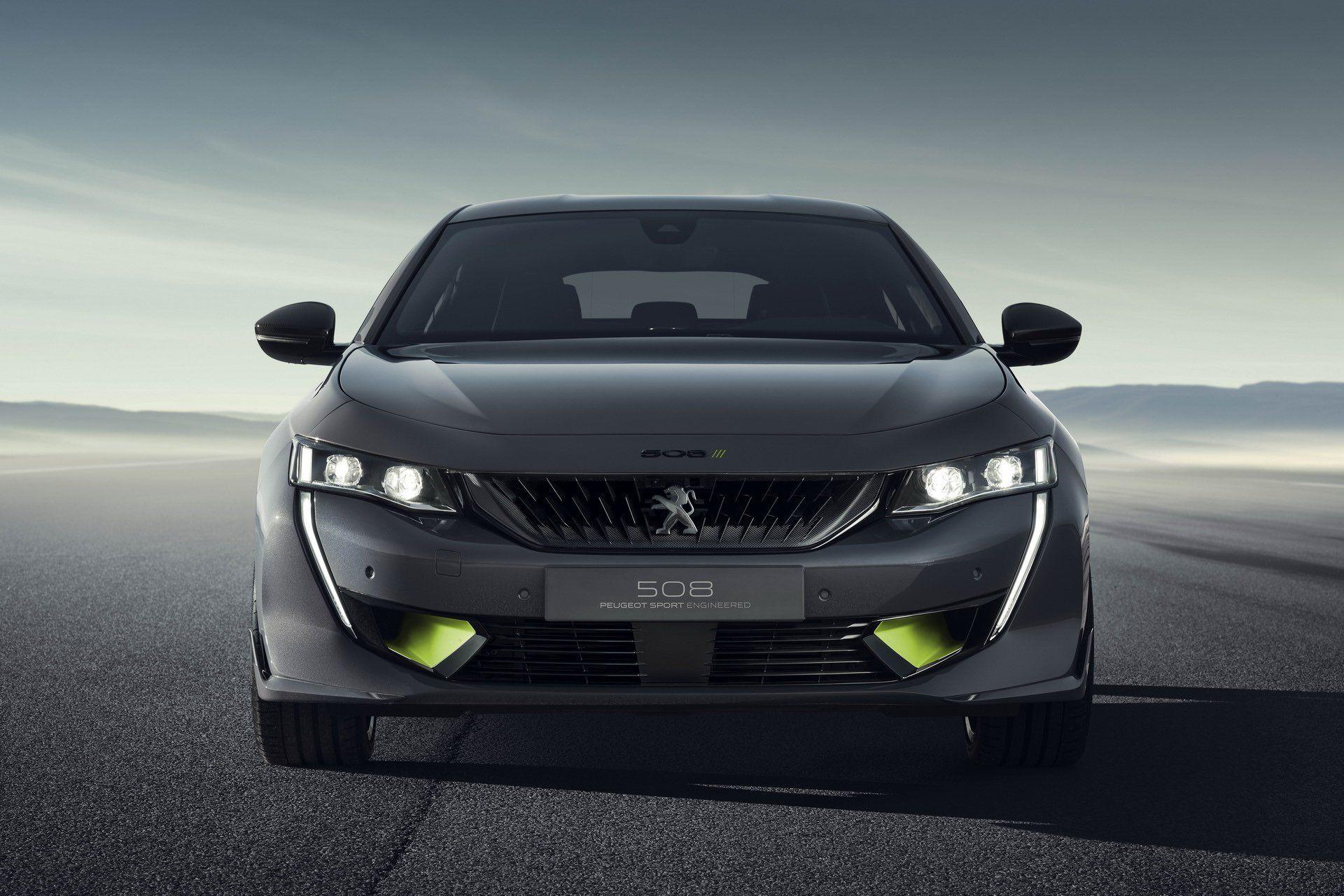 Peugeot 508 Sport Engineered Concept Revealed Ahead Of Geneva