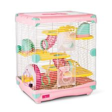 Combo Alice Dwarf Hamster Cage Fun Platform Large Double Mineral