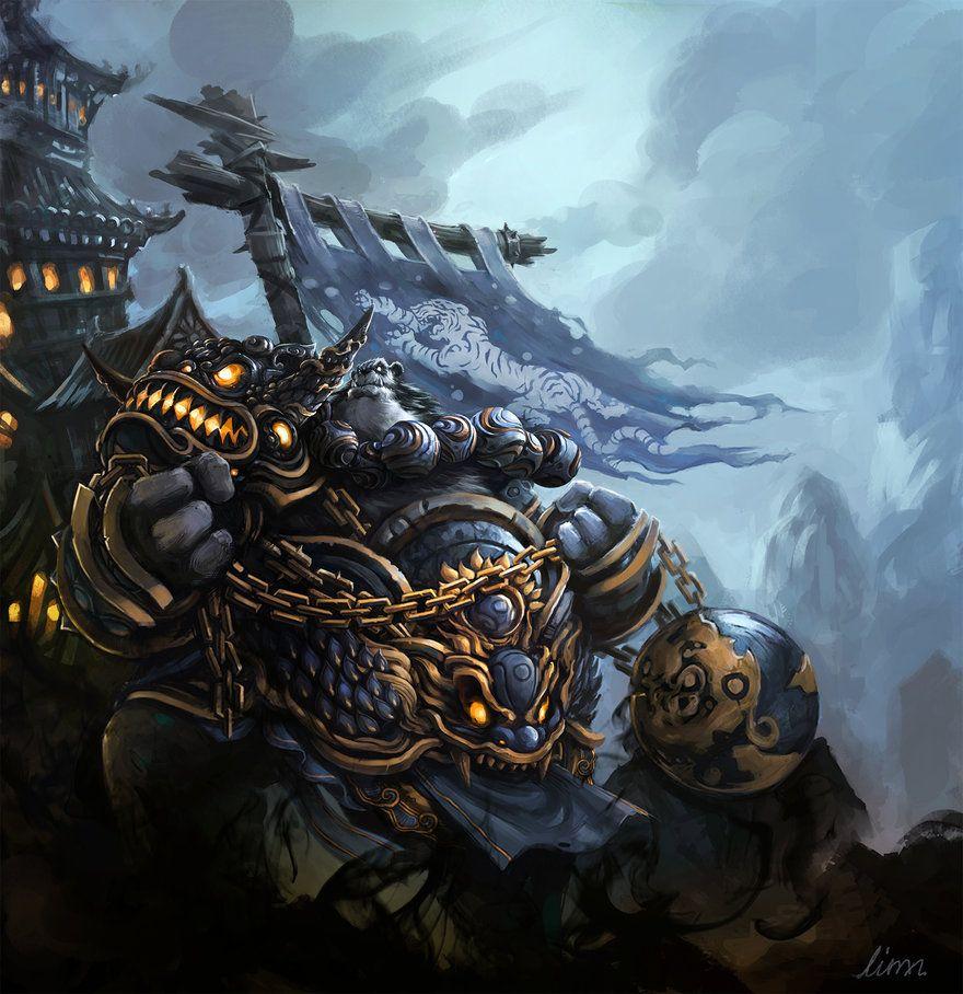 Pandaren Warrior By Linxz2010 On DeviantART
