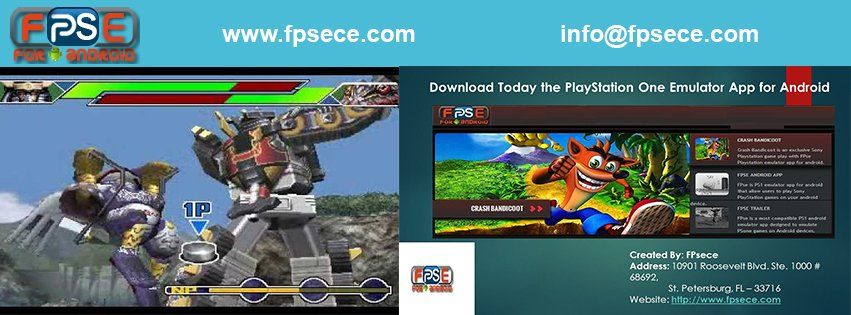 Download the PlayStation 1 emulator for Android operating
