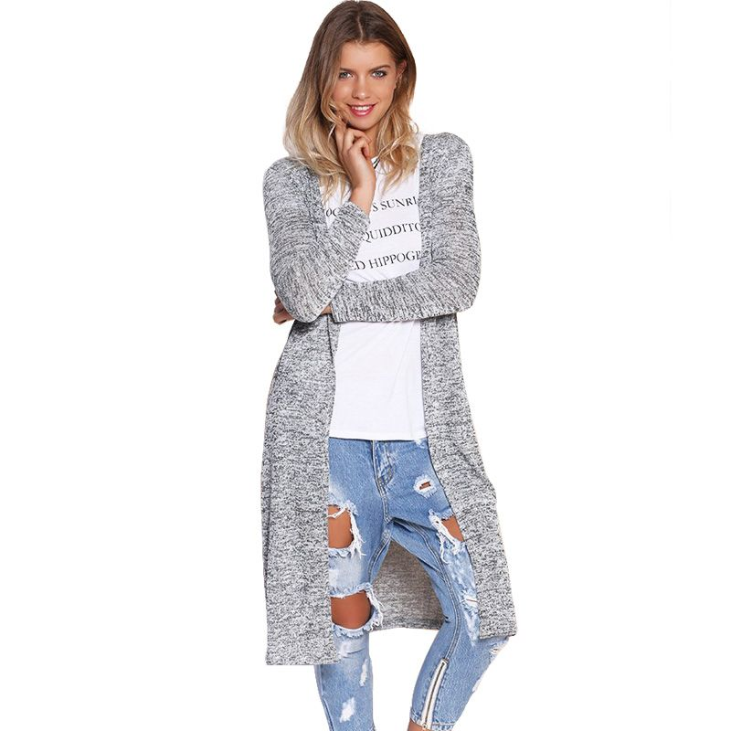 Cardigan women sweater Long Cardigan oversized knitting sweater ...