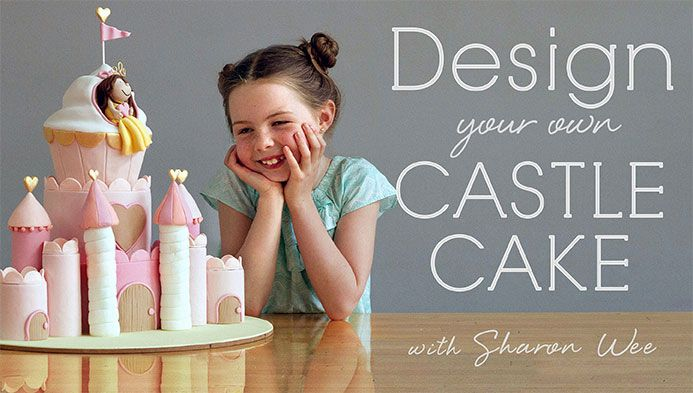 Design Your Own Castle Cake Cake birthday Cake tutorial and Cake