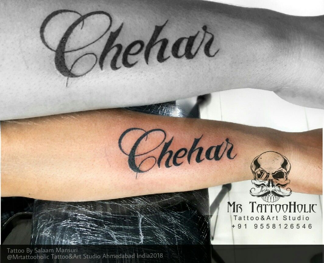 82bb75a91 Cellygraphy chehar maa name tattoo giddes name tattoo rabai goddes cheahr  tattoo #MrTattooHolic #Lordshivatattoo #omtattoo #hindicelligraphy  #shivalober ...