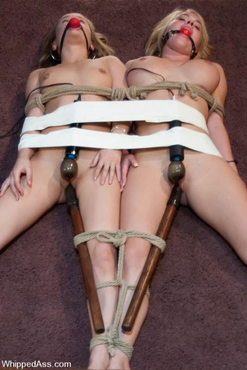 in bondage Twins