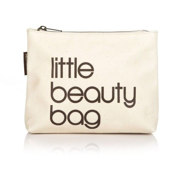 Bloomingdale's Little Beauty Bag ($8.65) ❤ liked on Polyvore featuring beauty products, bags, fillers, makeup, accessories and beauty