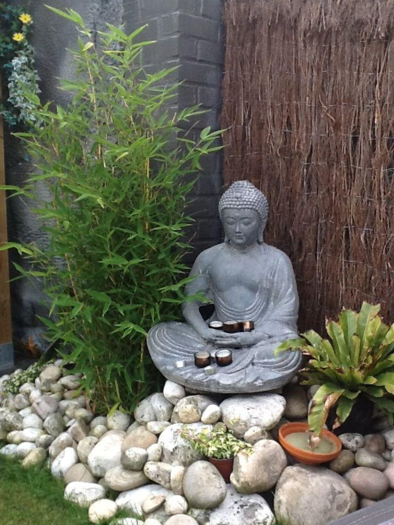 Meditation In The Garden Bamboo Grows In Zone 9 Mini Zen Garden Buddha Garden Zen Garden