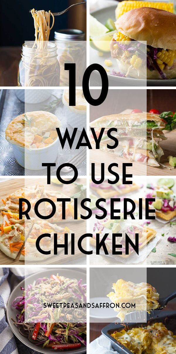 Easy recipes for rotisserie chicken leftovers