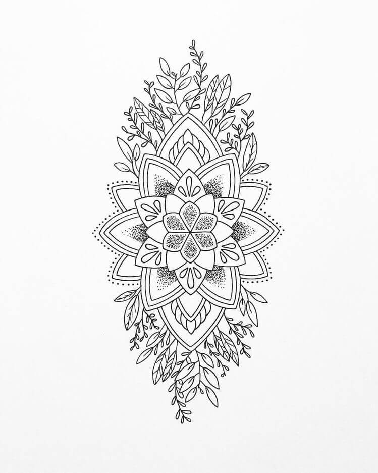 Delicate And Beautiful 30 Simple Mandala Tattoo Design Ideas For Women In 2020 Mandala Tattoo Design Simple Mandala Tattoo Mandala Tattoo