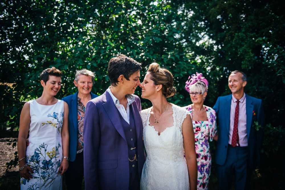 Colourful Summer Fete Wedding: Sam & Sarah