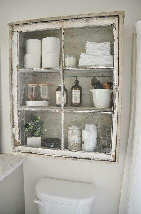 Window Pane Medicine Cabinets With