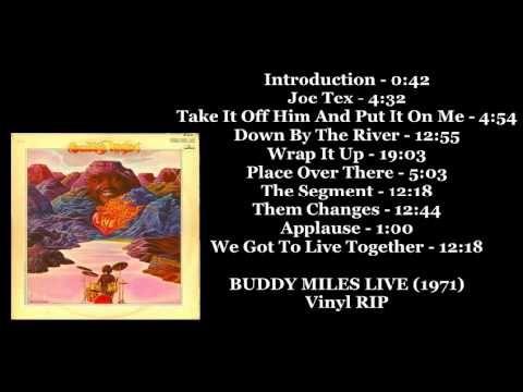 Buddy Miles Live (1971) (DoLP Vinyl-Rip) (Full Album)