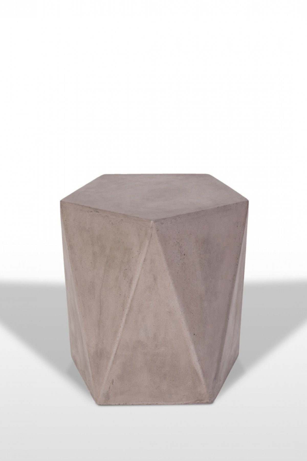Swell Modrest Vida Modern Concrete Stool 18 X 18 X 18 High Gmtry Best Dining Table And Chair Ideas Images Gmtryco