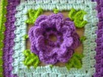Vierkant Haken En Plaid Maken Hobby Crochet Granny Inspiration