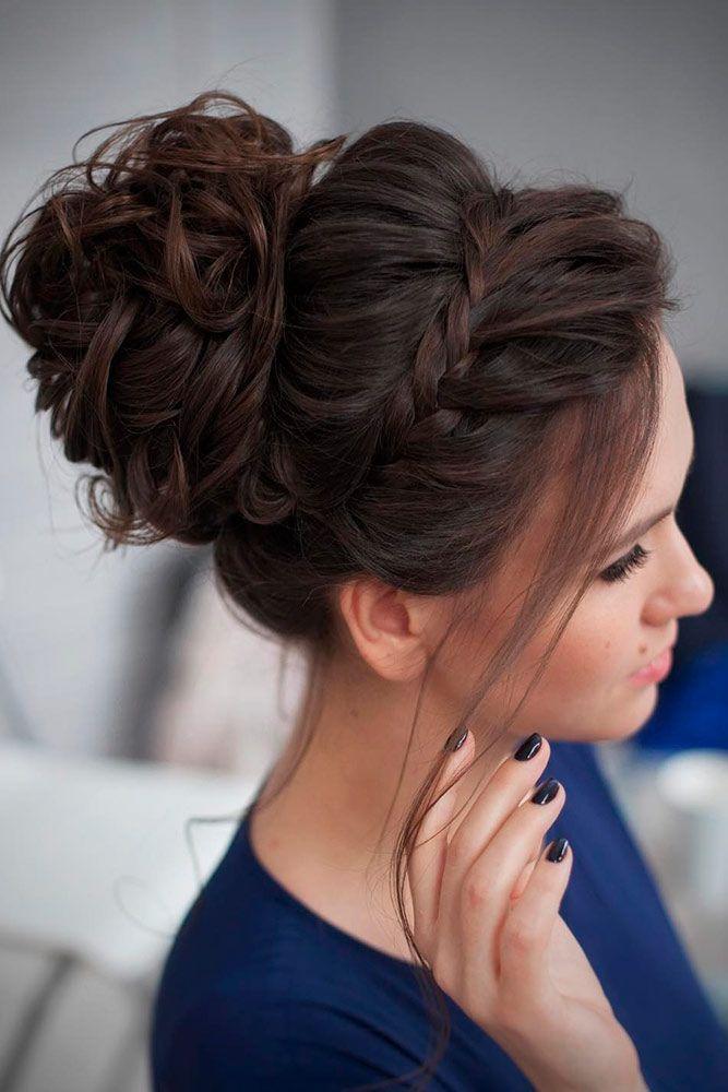 Wunderschöne Brötchen Frisuren in jeder möglichen Weise