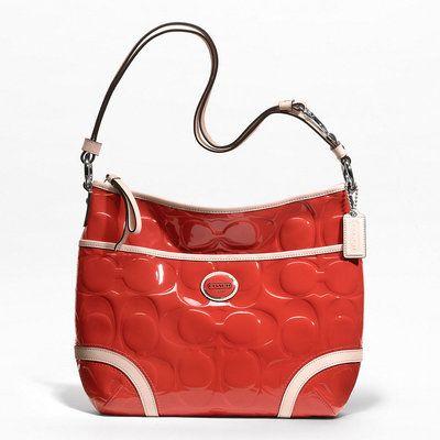 c76a2959deeac wholesale replica purses and handbags. COACH PEYTON EMBOSSED PATENT  CONVERTIBLE HOBO