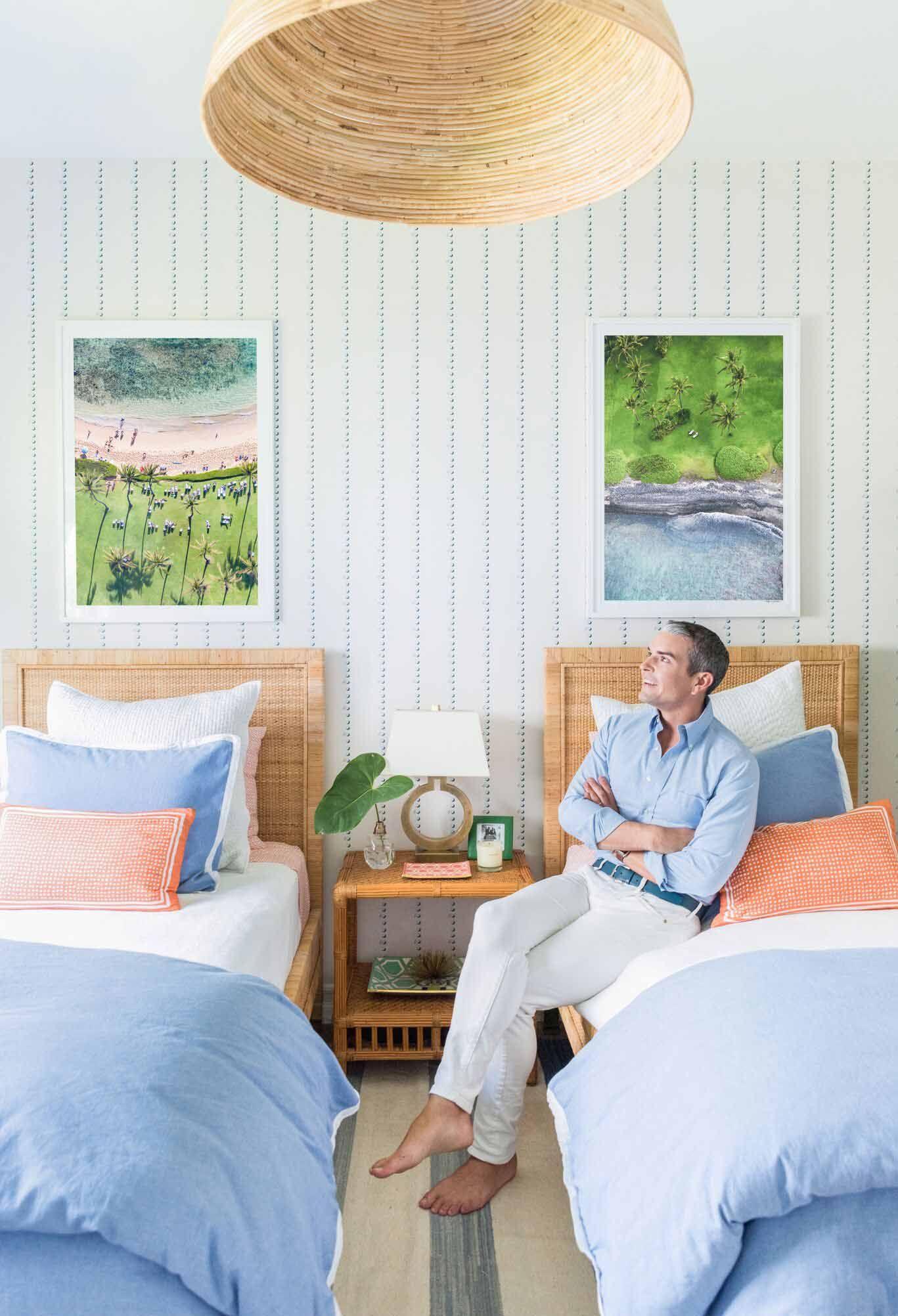 Gray S Home His Hawaiian Guest Bedroom Escape Guest Bedroom