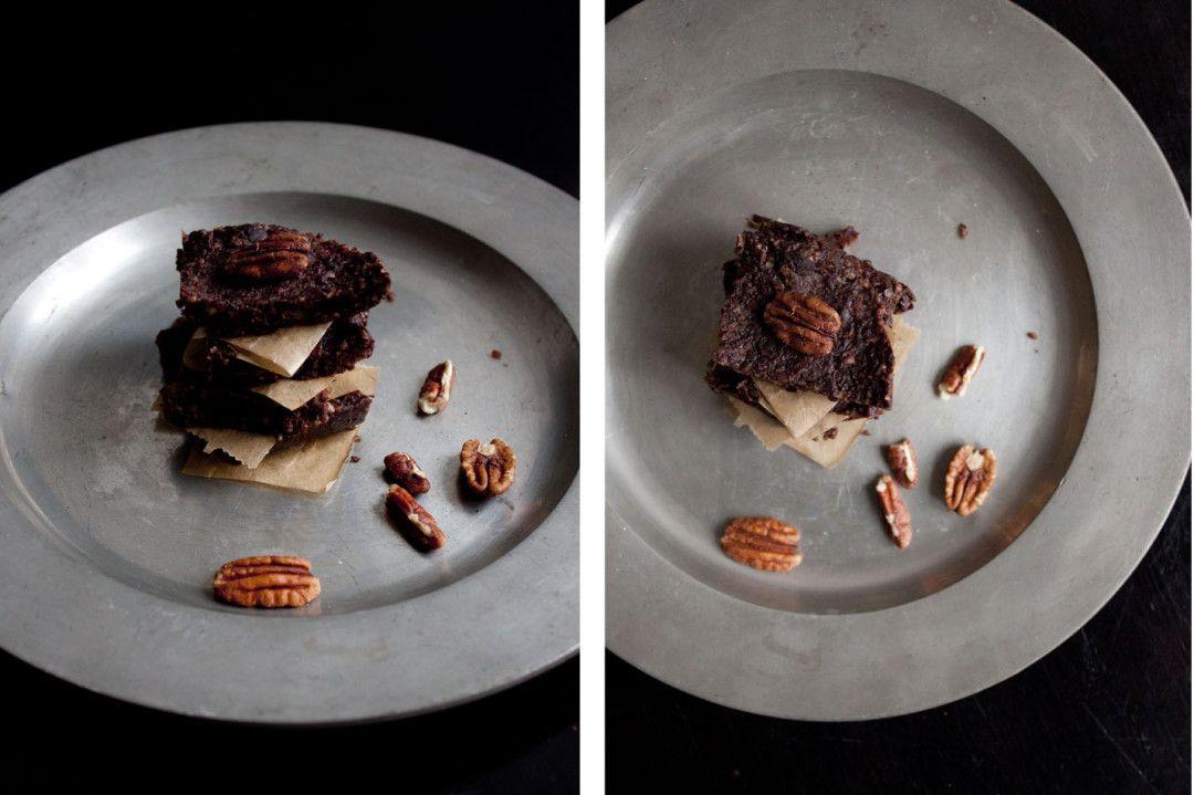 Schoko Tee Brownies - Tee im Brownie! Richtig gehört - warum trinken wenn man ihn essen kann! / Brownie with chai tea inside - delish