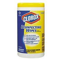 Clorox Lemon Scent Disinfecting Wipes 6 Ct Disinfecting Wipes Clorox Clorox Bleach