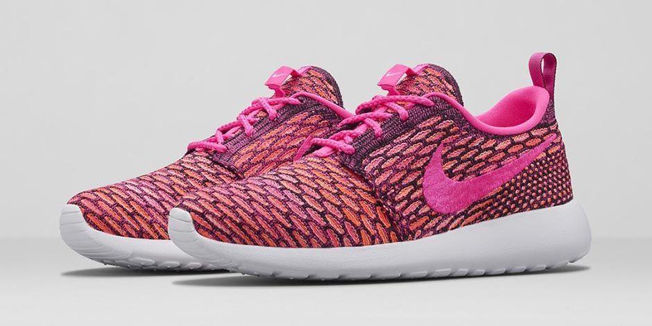 Nike Roshe Run Flyknit Women Pink