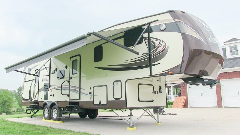 2014 Jayco Eagle 34 5bhts Bunkhouse Fifth Wheel Louisville Ky