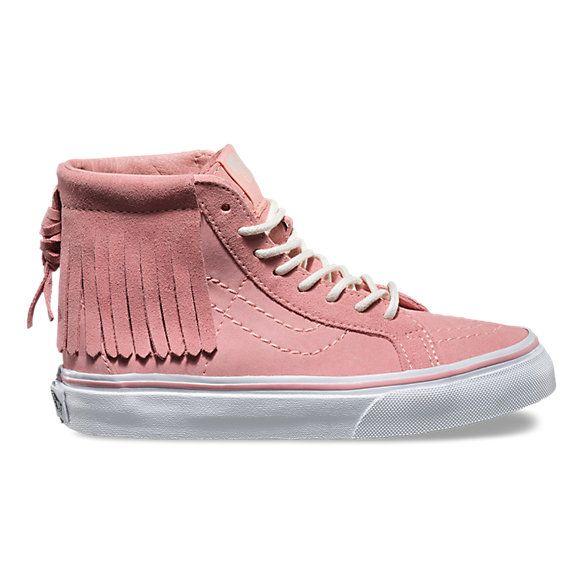 Kids Suede SK8-Hi Moc | Shop Girls Shoes at Vans