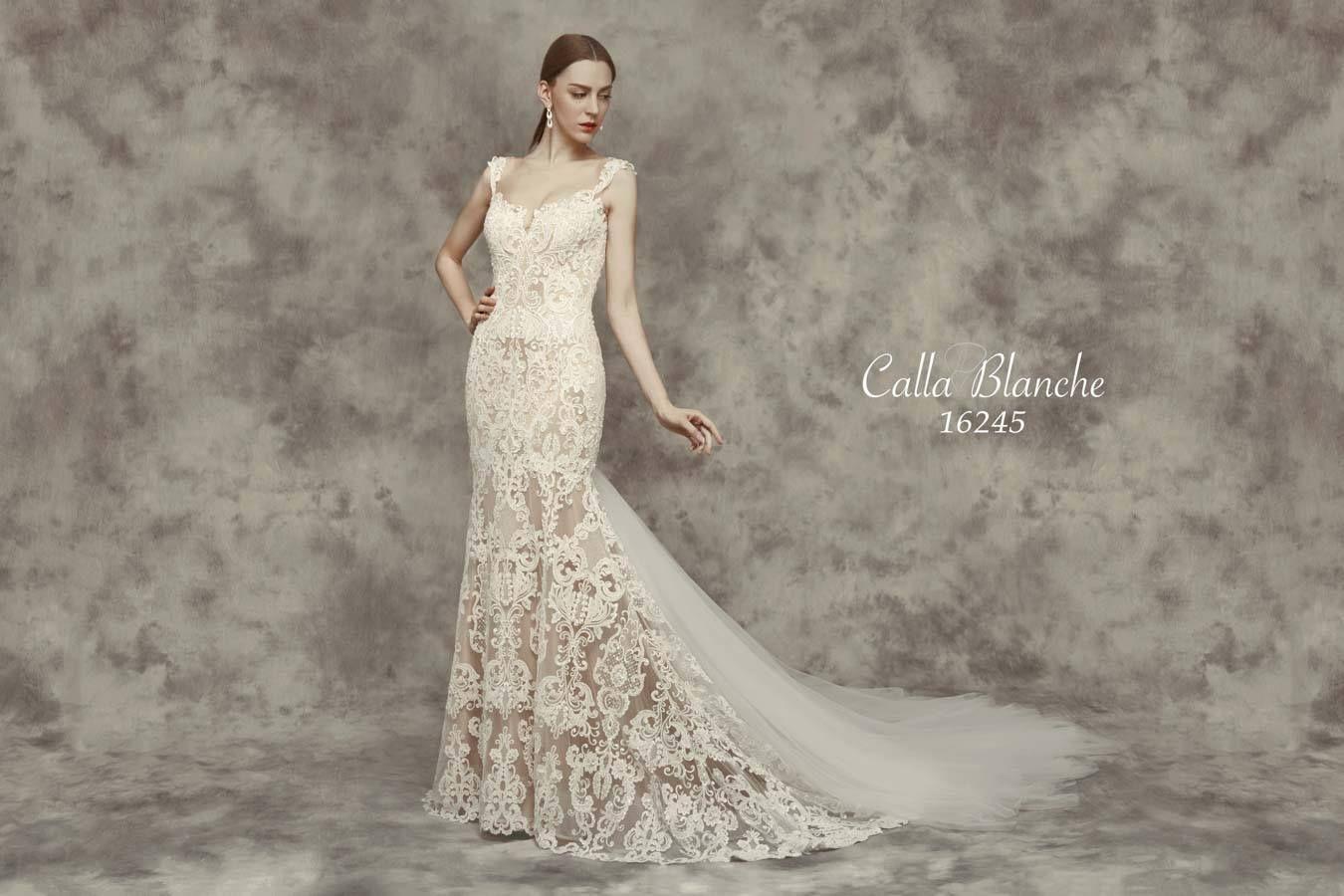 Chloe Wedding Dress Style 16245   Calla Blanche Bridal   Calla ...