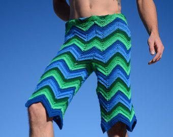 Crochet Shorts Custom Order Men's ngIT4