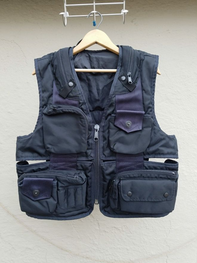 0ae55b5e9aec Issey Miyake Cargo   Tactical Vest Size US M   EU 48-50   2